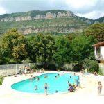 camping avec piscine Millau