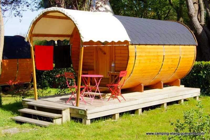 camping avec roulotte Loire-Atlantique