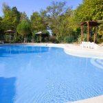 camping avec grande piscine Lubéron