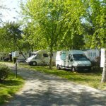camping avec emplacements camping-car Landes