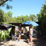 Emplacement camping car et tente dans le vaucluse