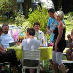 Ambiance familaile au camping Treflio catalpas