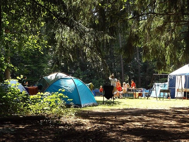 La tente pour votre famille en camping