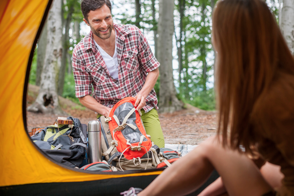 La tente idéale sur un emplacement de camping