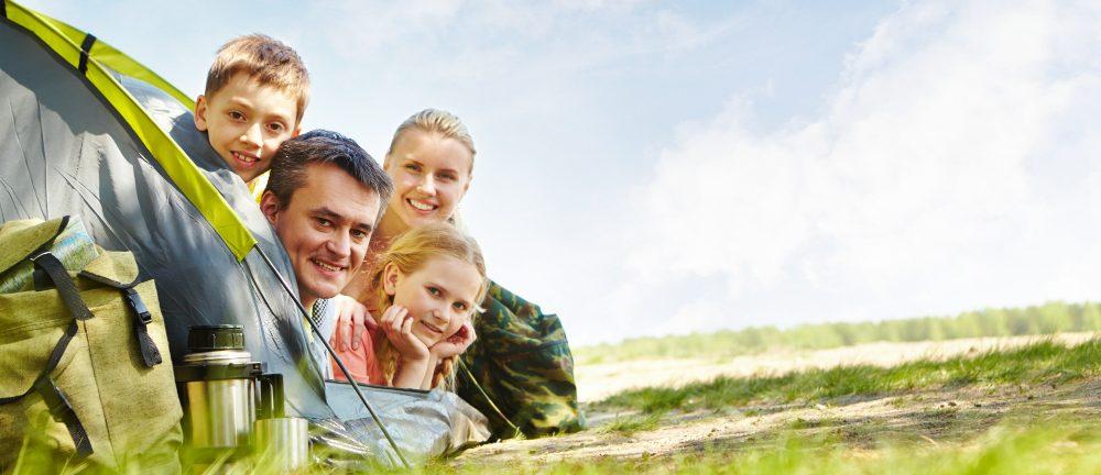 La tente pour votre famille pour vos prochaines vacances en camping